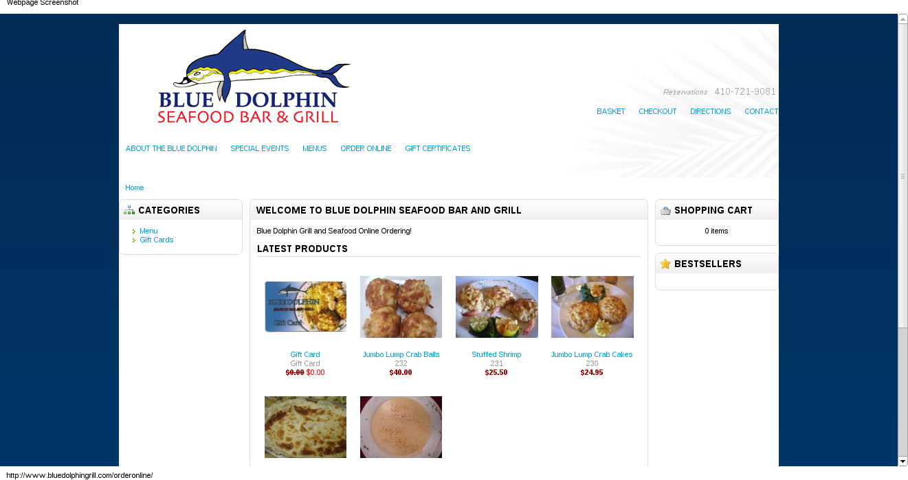 Blue Dolphin Seafood Bar and Grill
