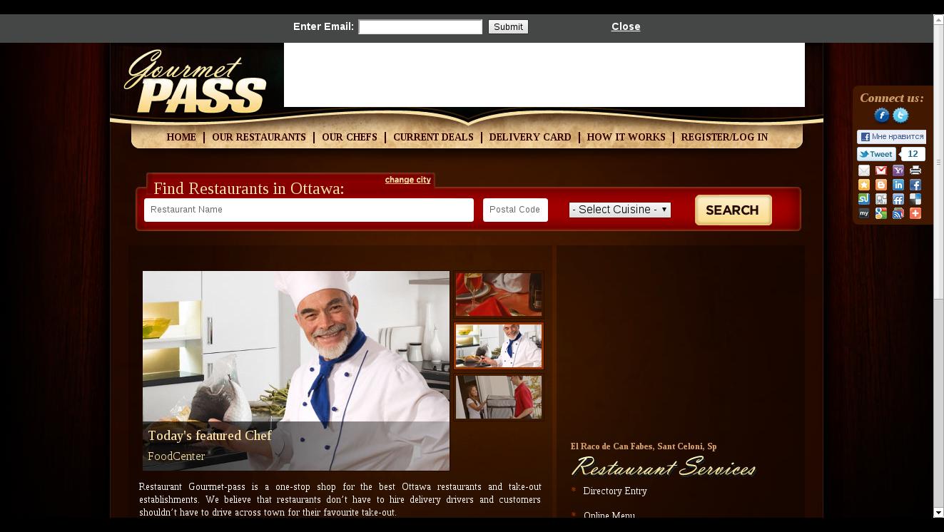 Gourmet-pass