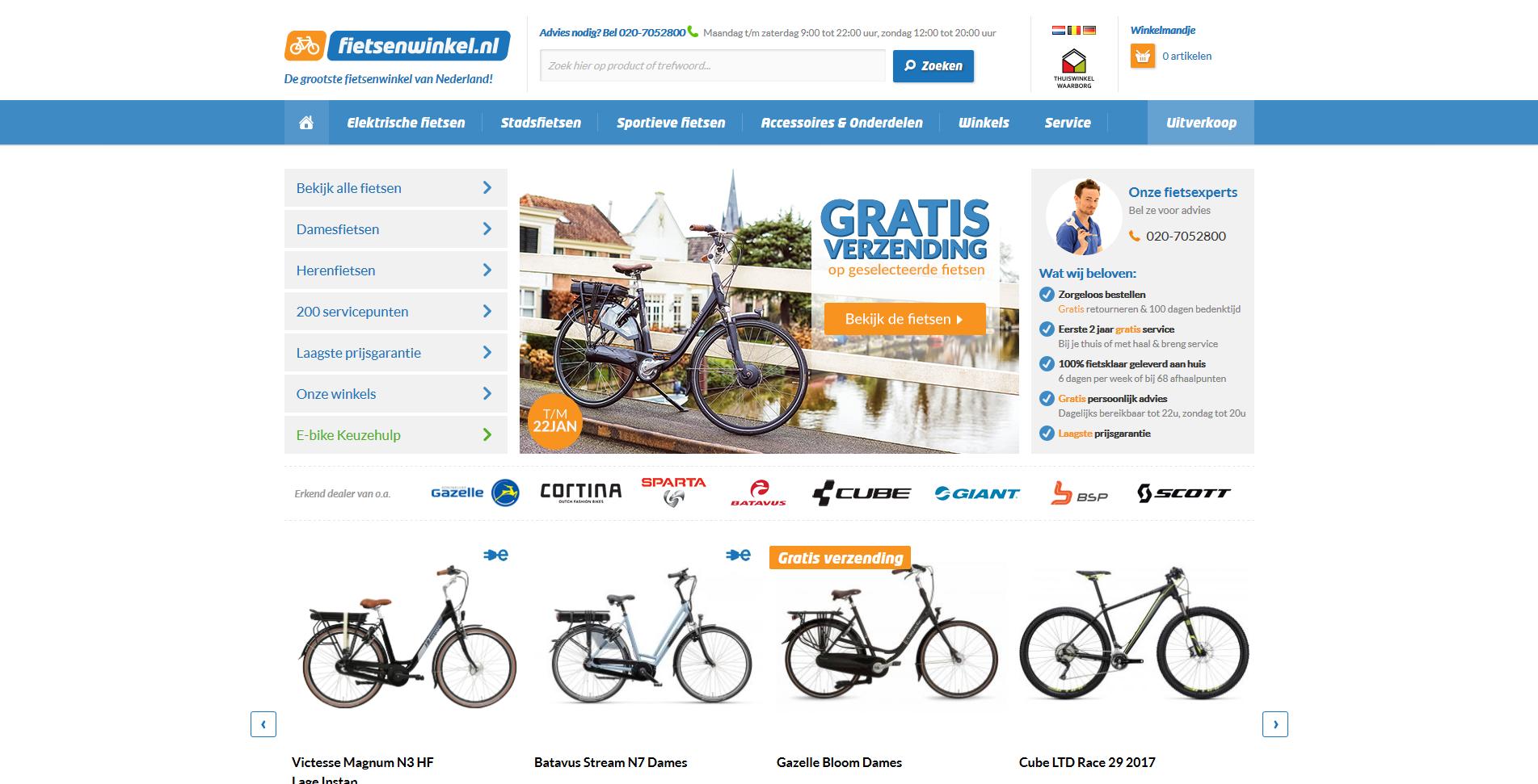 Fiets kopen? Vind de perfecte fiets op Fietsenwinkel.nl!